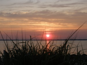 Sunset on the Rehoboth Bay