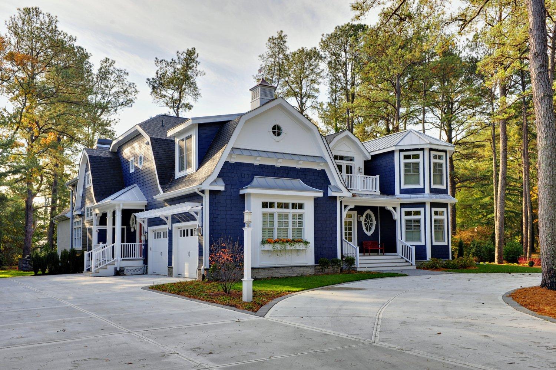Henlopen acres iii photo gallery of custom delaware new for Family home design
