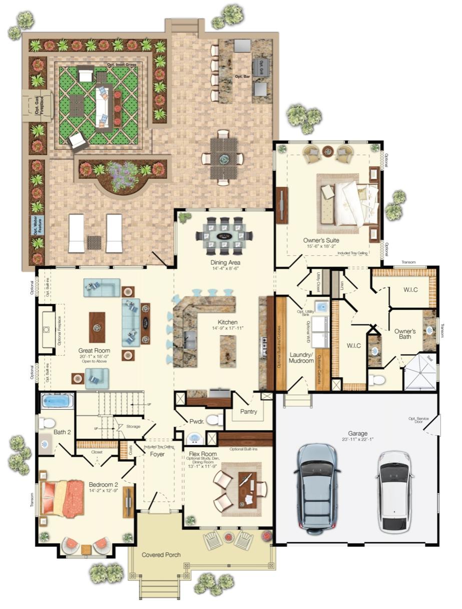 Carnegie 1st Floor